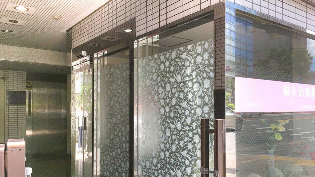 めびうす入口エレベーター